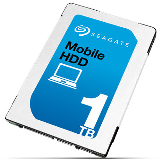 Disque dur interne Seagate Kit PC portable Mobile HDD 1 To + SO-DIMM DDR3L