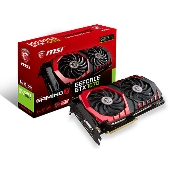 Carte graphique MSI Pack VR ! GTX 1070 Gaming X 8 Go + HTC Vive !