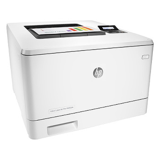 Imprimante laser HP LaserJet Pro M452dn + toner noir haute capacité