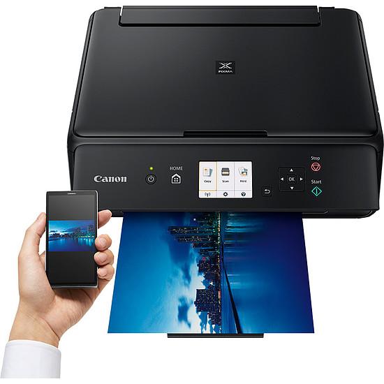Imprimante multifonction Canon PIXMA TS5050 + multipack CLI-571 (C/M/J/N) - Autre vue