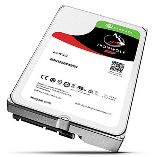 Disque dur interne Seagate IronWolf - 10 To (Pack de 2)