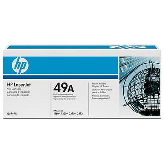 Toner imprimante HP Pack de 2 x 49A - Q5949A