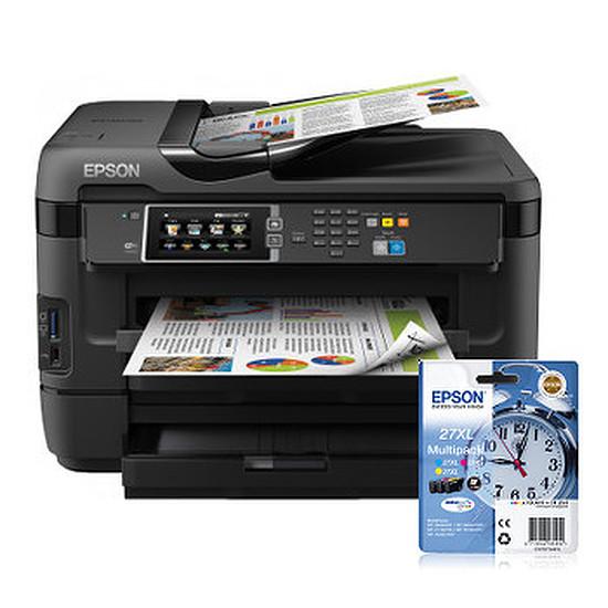 Imprimante multifonction Epson WorkForce WF-7620DTWF + multipack 27XL