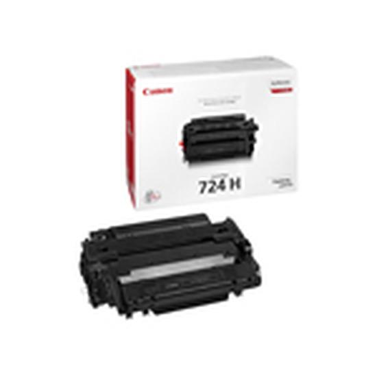 Toner Canon Pack de 2 x 724H Noir Haute capacité