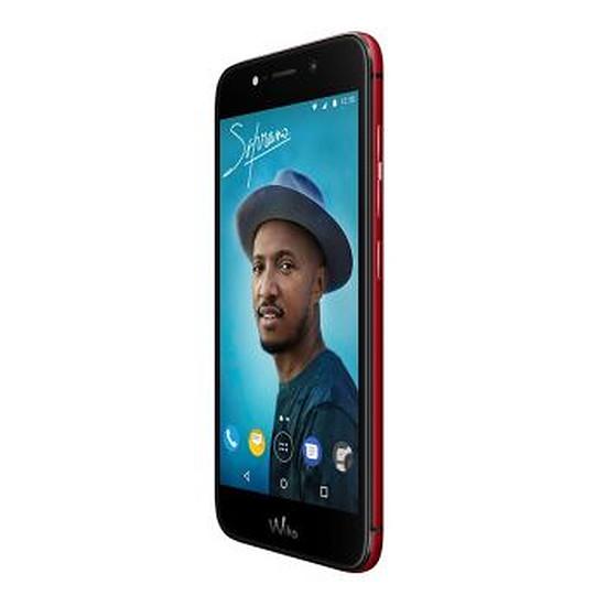 Smartphone et téléphone mobile Wiko Wim Lite (rouge) - 4G