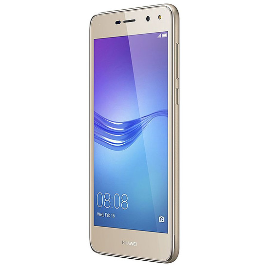 Smartphone et téléphone mobile Huawei Y6 2017 (or) - Dual Sim - 16 Go