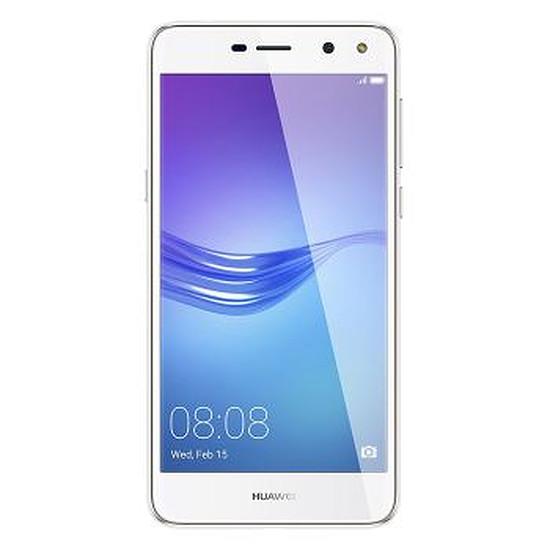 Smartphone et téléphone mobile Huawei Y6 2017 (blanc) - Dual Sim - 16 Go