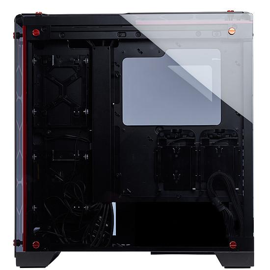 Boîtier PC Corsair Crystal 570X RGB - Rouge - Autre vue