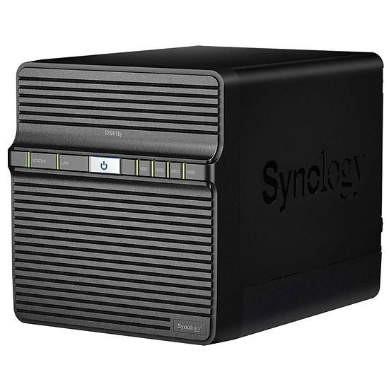 Serveur NAS Synology NAS DS418J - 1 Go