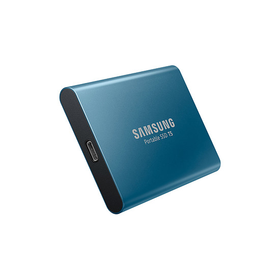 Disque dur externe Samsung SSD externe T5 - 250 Go - Autre vue