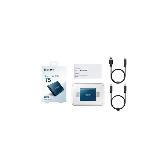 Disque dur externe Samsung SSD externe T5 - 1 To - Autre vue