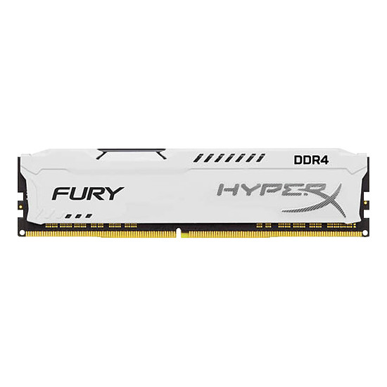 Mémoire HyperX Fury White DDR4 1 x 8 Go 2400 MHz CAS 15