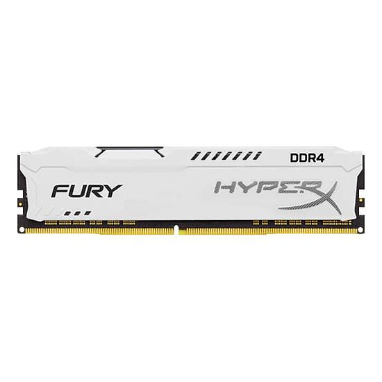 Mémoire HyperX Fury White DDR4 1 x 8 Go 3200 MHz CAS 18