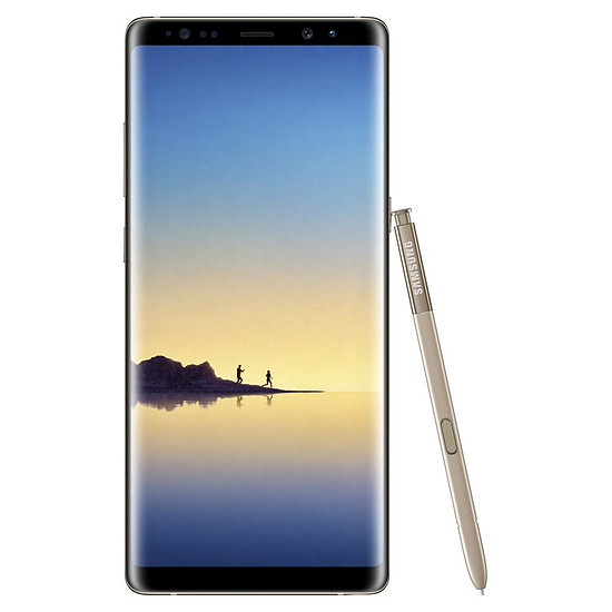 Smartphone et téléphone mobile Samsung Galaxy Note 8 (or) - 6 Go - 64 Go