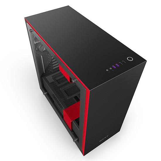 Boîtier PC NZXT H700i - Noir/Rouge - Autre vue