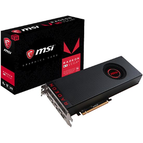 Carte graphique MSI Radeon RX Vega 64 HMB2 – 8 Go