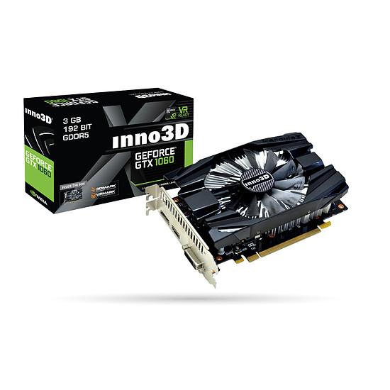 Carte graphique Inno3D GeForce GTX 1060 Compact - 3 Go