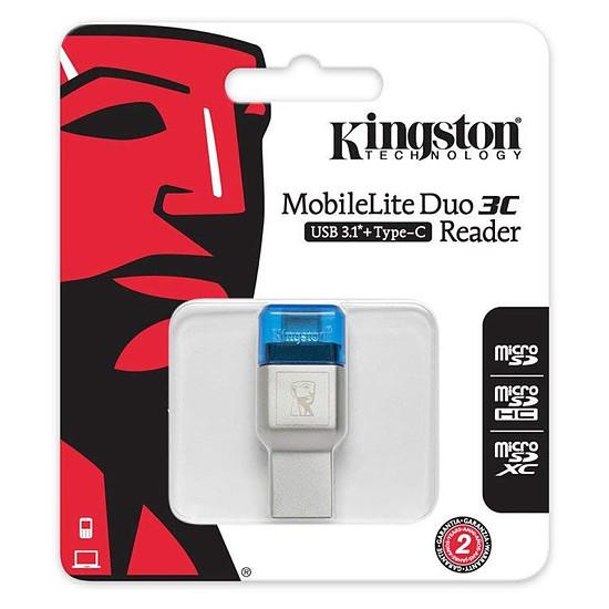 Lecteur de carte mémoire Kingston MobileLite Duo 3C - Autre vue