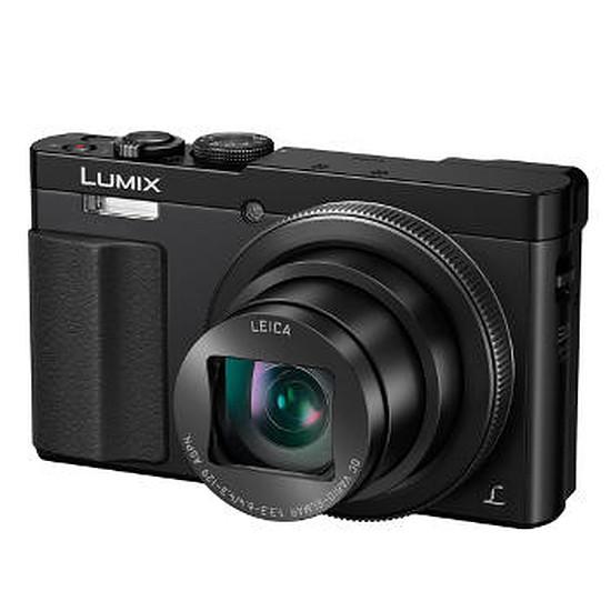 Appareil photo compact ou bridge Panasonic Lumix DMC-TZ70 Noir + Etui + carte SD 8Go (Pack)