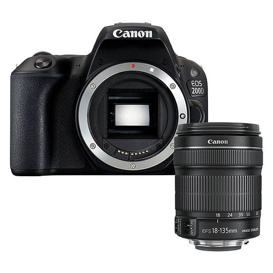 Appareil photo Reflex Canon EOS 200D + 18-135 IS STM