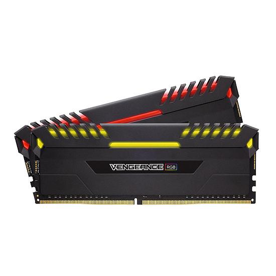 Mémoire Corsair Vengeance RGB DDR4 2 x 16 Go 3000 MHz CAS 16