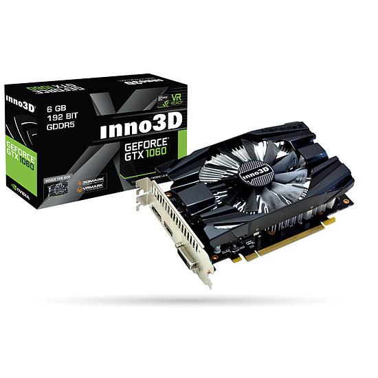 Carte graphique Inno3D GeForce GTX 1060 Compact X1 - 6 Go