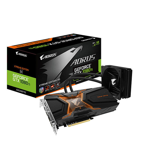 Carte graphique Gigabyte GeForce GTX 1080 Ti Aorus Waterforce Xtreme