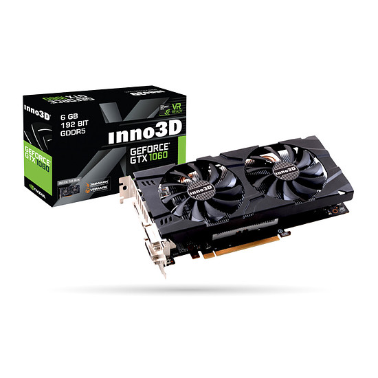 Carte graphique Inno3D GeForce GTX 1060 Twin X2 - 6 Go