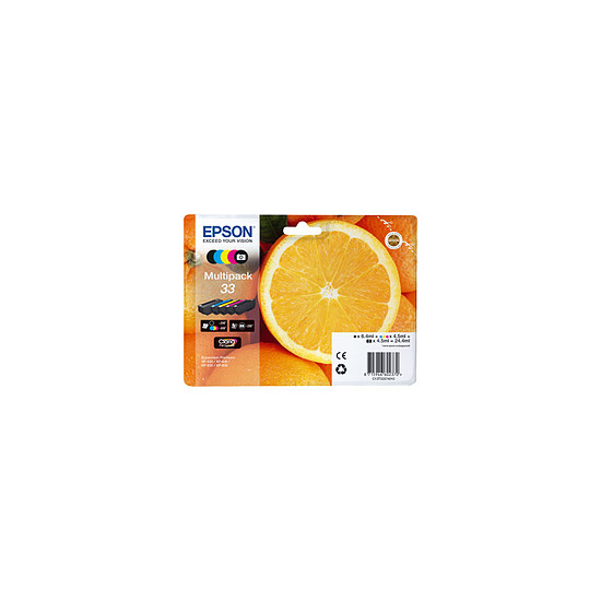 Cartouche imprimante Epson Multipack Orange - 5 cartouches - C13T33374011
