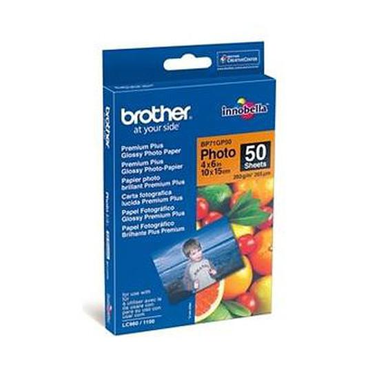 Papier imprimante Brother Papier photo brillant (50 feuilles)