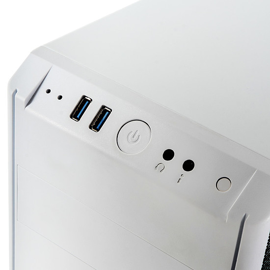 Boîtier PC BitFenix Nova TG - Blanc - Autre vue
