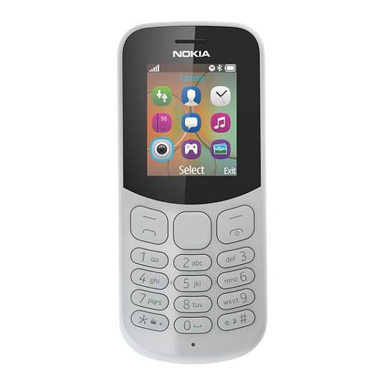 Smartphone et téléphone mobile Nokia 130 (TA-1017) - Double SIM (gris) - Autre vue