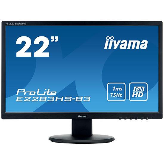 Écran PC Iiyama ProLite E2283HS-B3 - Autre vue