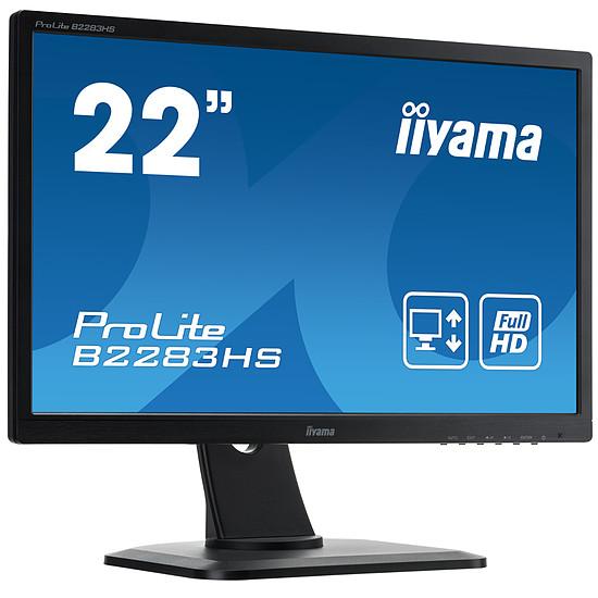 Écran PC Iiyama ProLite B2283HS-B3 - Autre vue
