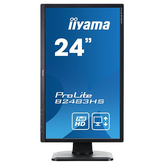 Écran PC Iiyama ProLite B2483HS-B3 - Autre vue
