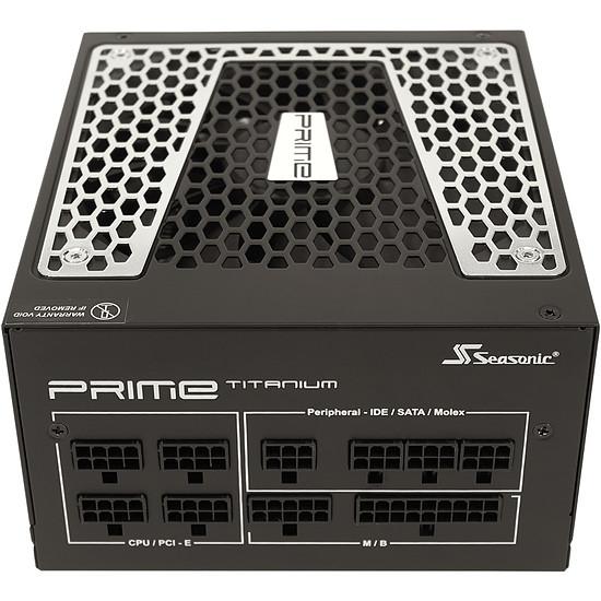 Alimentation PC Seasonic PRIME Ultra 650 Titanium - Autre vue