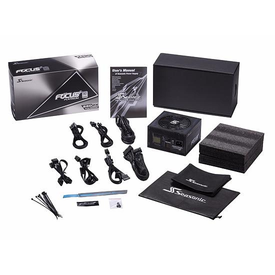 Alimentation PC Seasonic FOCUS Plus 550 Platinum - Autre vue