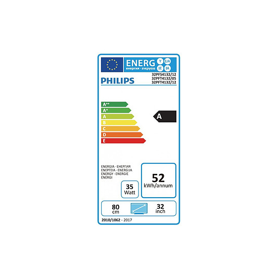 TV Philips 32PFS4132 TV LED Full HD 80 cm - Autre vue