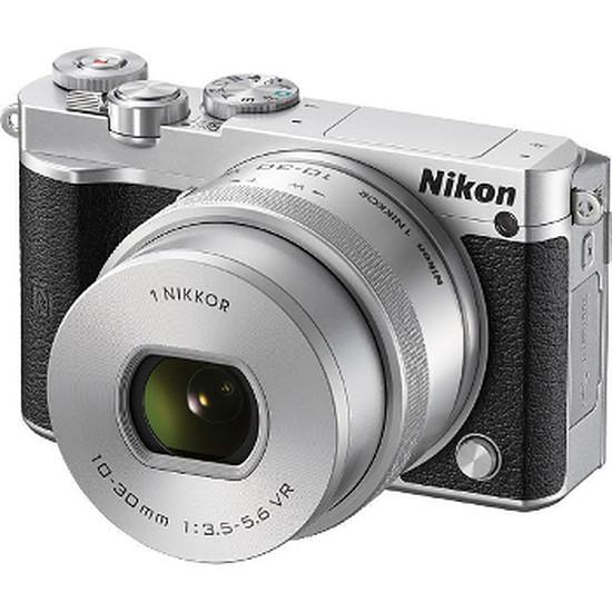 Appareil photo hybride Nikon 1 J5 + 10-30 mm f/3.5-5.6 VR PDZ Silver