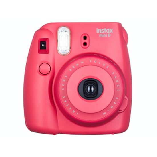 Appareil photo compact ou bridge Fujifilm Instax MINI 8 Raspberry