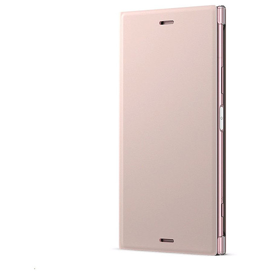Coque et housse Sony Style Cover Stand (rose) - Sony Xperia XZ1 - Autre vue
