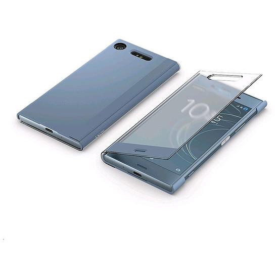 Coque et housse Sony Style Cover touch (bleu gris) - Sony Xperia XZ1 - Autre vue