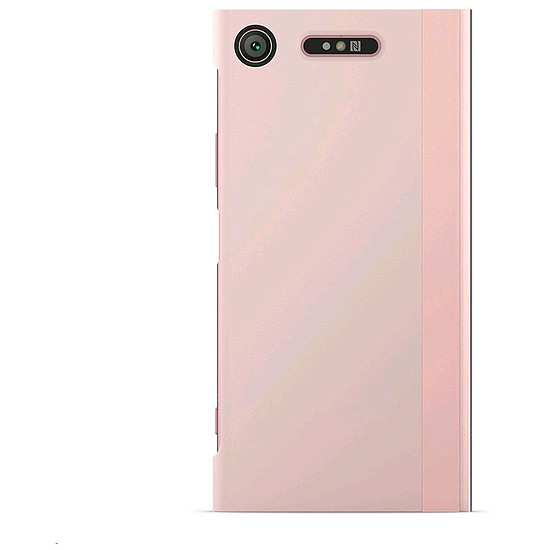 Coque et housse Sony Style Cover touch (rose) - Sony Xperia XZ1 - Autre vue