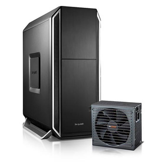 Boîtier PC Be Quiet Silent Base 800 Silver + Straight Power CM 700W