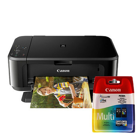 Imprimante multifonction Canon PIXMA MG3650 + multipack 4 couleurs (PG-540/CL541)