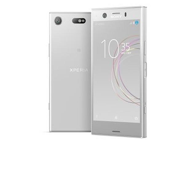 Smartphone et téléphone mobile Sony Xperia XZ1 Compact (argent)