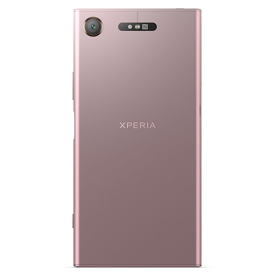 Smartphone et téléphone mobile Sony Xperia XZ1 (rose) - Double SIM - Autre vue