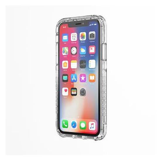 Coque et housse Griffin Survivor Strong pour iPhone X - Transparent