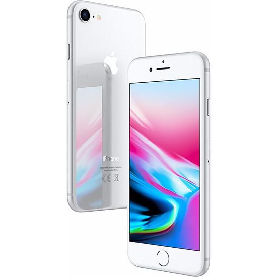 Smartphone et téléphone mobile Apple iPhone 8 (argent) - 256 Go