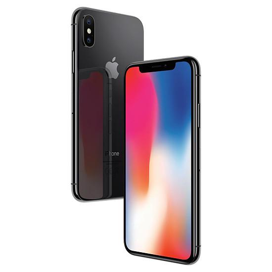 Smartphone et téléphone mobile Apple iPhone X (gris sidéral) - 64 Go